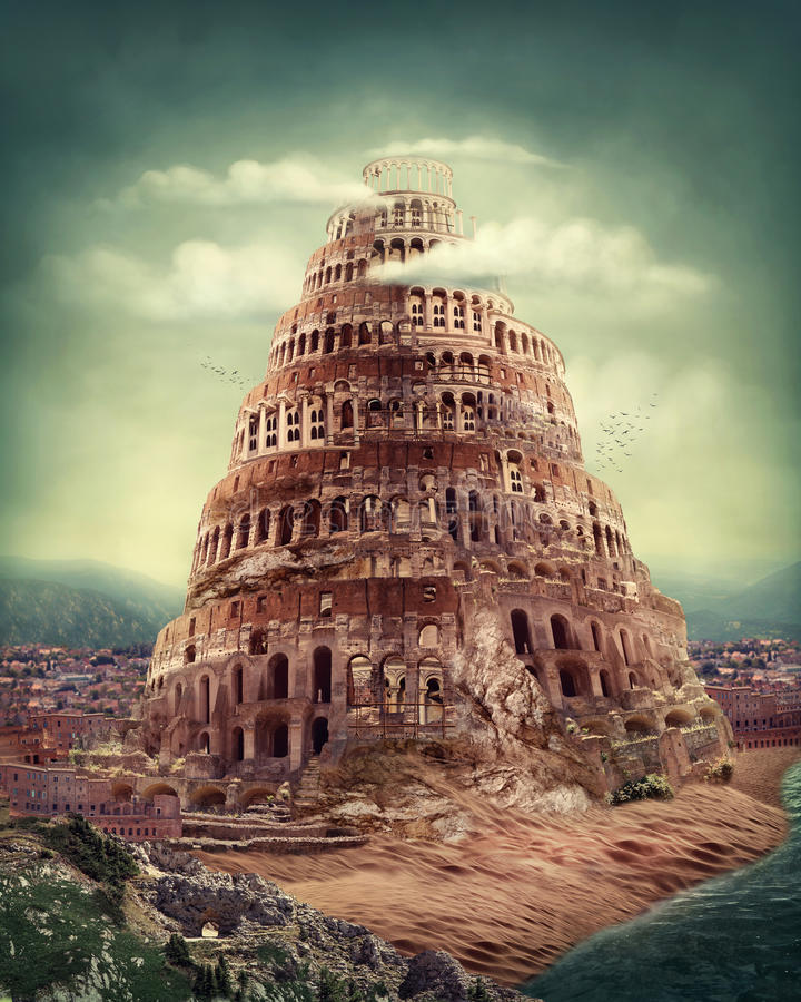 Humanism is found with the building of Babel